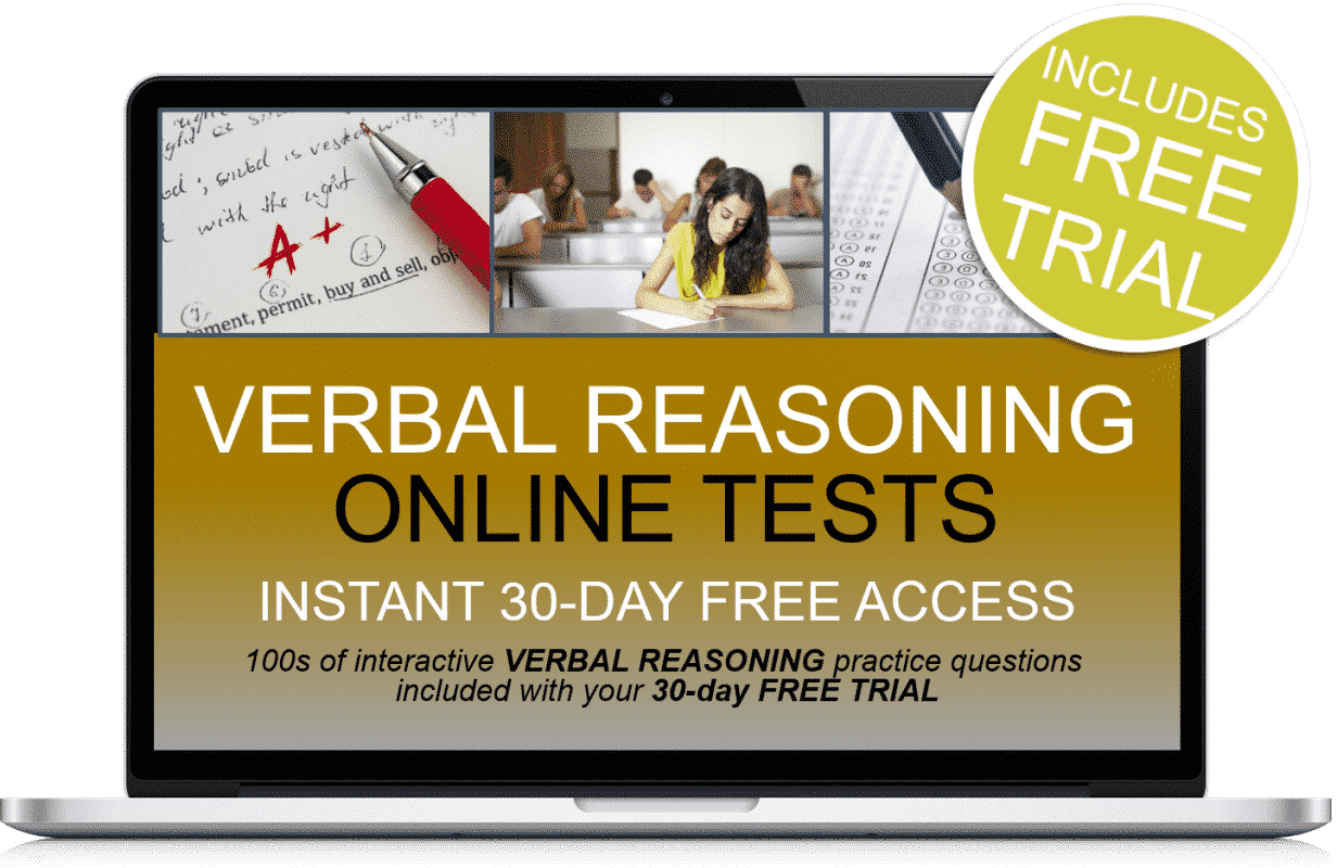 Free Online Interactive Verbal Reasoning Practice Tests