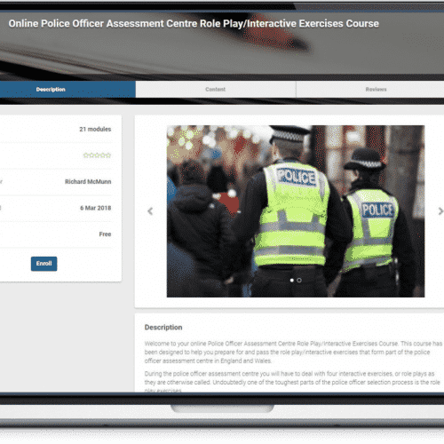 Online Police Role Play Exercises