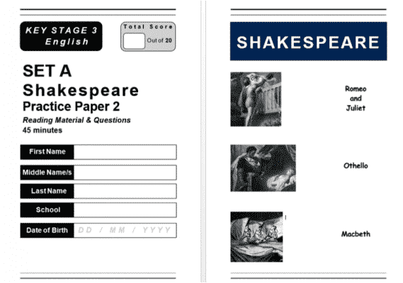 KS3 English is Easy Practice Papers | Revision Resource