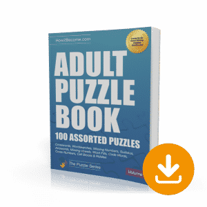Adult Puzzle Book Volume 2 Download