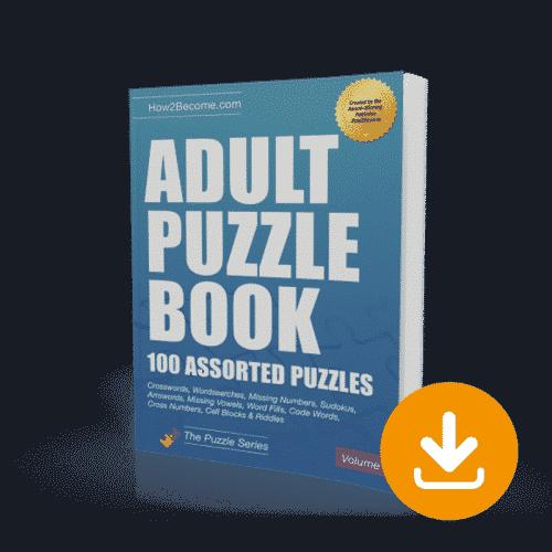 Adult Puzzle Book Volume 2 Download