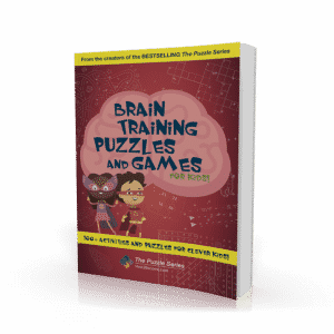 Brain Training Puzzles and Games for Kids Workbook