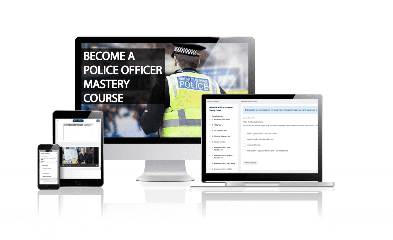 How to Become a Police Officer Online Mastery Training Course