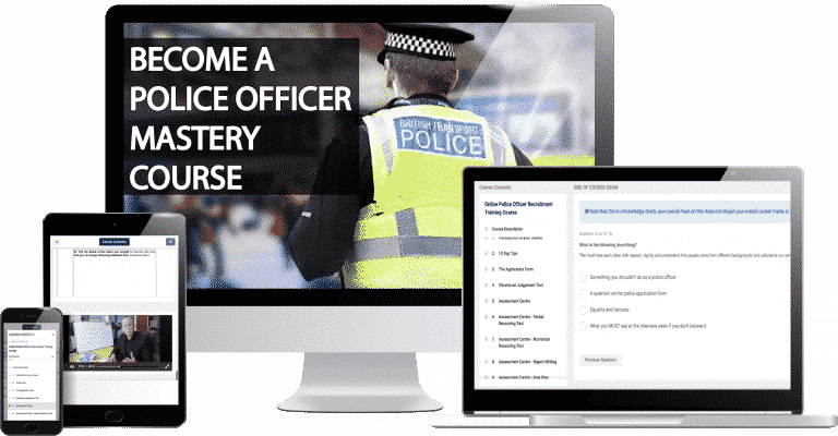 Police Constable Assessment Centre Practice Tests Course