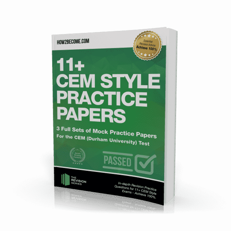 11+ CEM Style Practice Papers