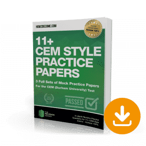 11+ CEM Style Practice Papers Download
