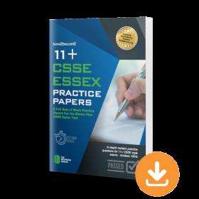 11+ CSSE Essex Practice Papers Download