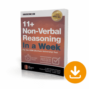 11+ Non-Verbal Reasoning In a Week Download