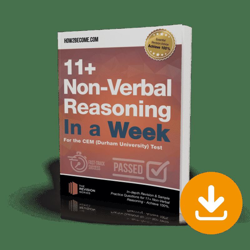 11+ Non-Verbal Reasoning In a Week Download