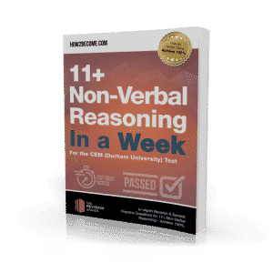 11+ Non-Verbal Reasoning In a Week Workbook