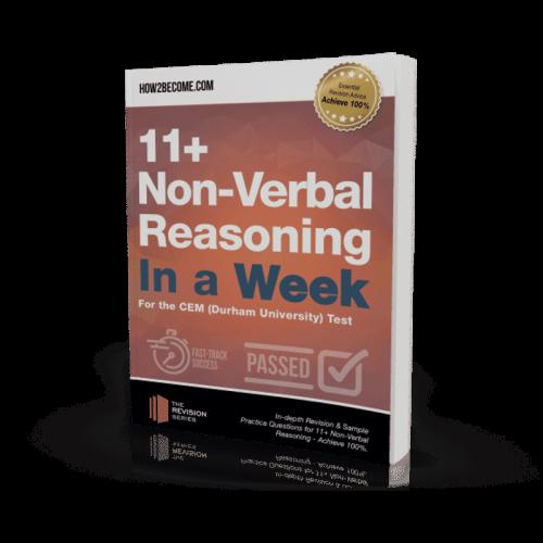 11+ Non-Verbal Reasoning In a Week Workbook