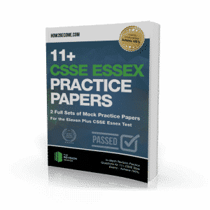 11+CSSE Essex Practice Papers Workbook