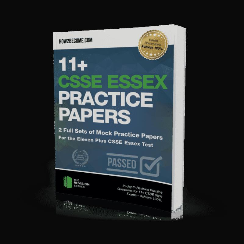 11+CSSE Essex Practice Papers Workbook