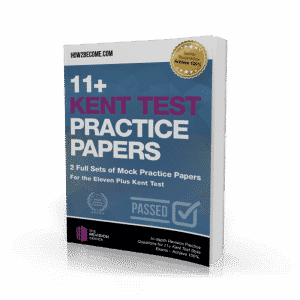 11+ Kent Test Practice Papers Workbook