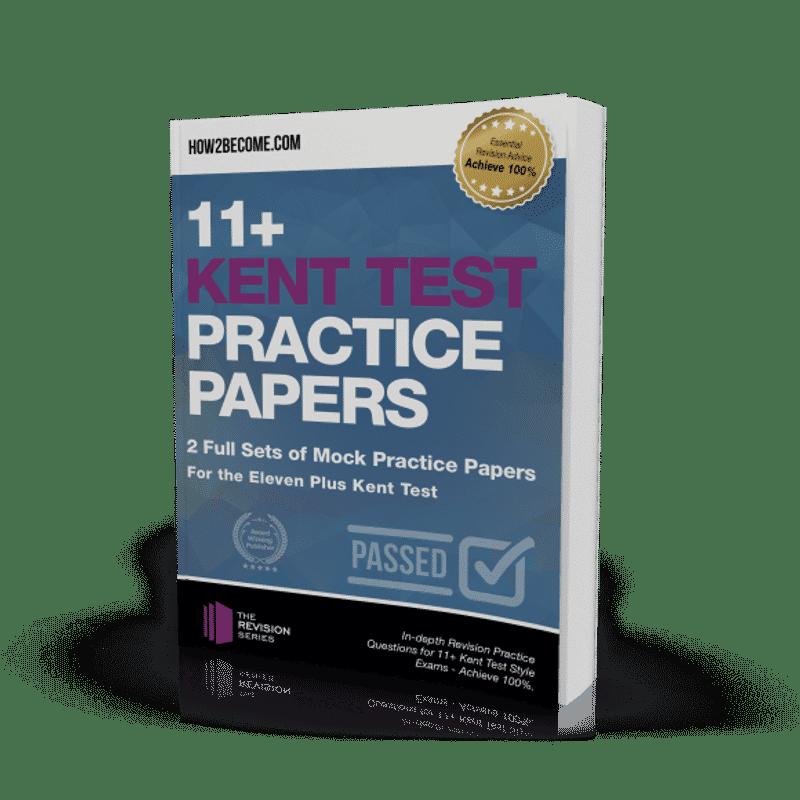 11+ Kent Test Practice Papers Workbook