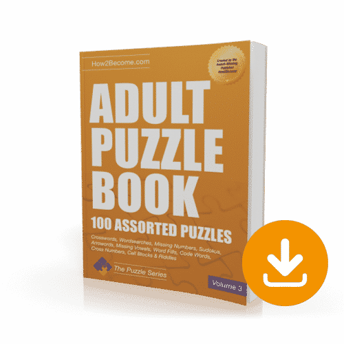 Adult Puzzle Book Volume 3 Download