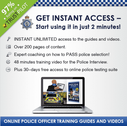 How to Become a Police Officer Guide Silver Banner