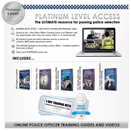 How to Become a Police Officer Platinum Guide