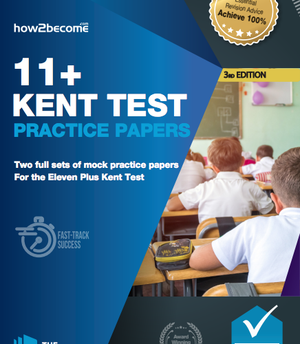 Kent Test 11+ Practice Papers 3rd Edition Front Cover