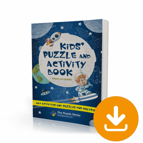 Kids Puzzle and Activity Book Space Adventure Download