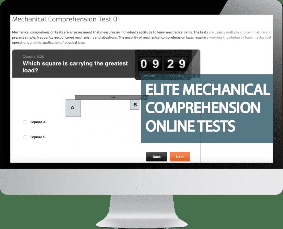 Mechanical Comprehension Tests Online Practice@4x