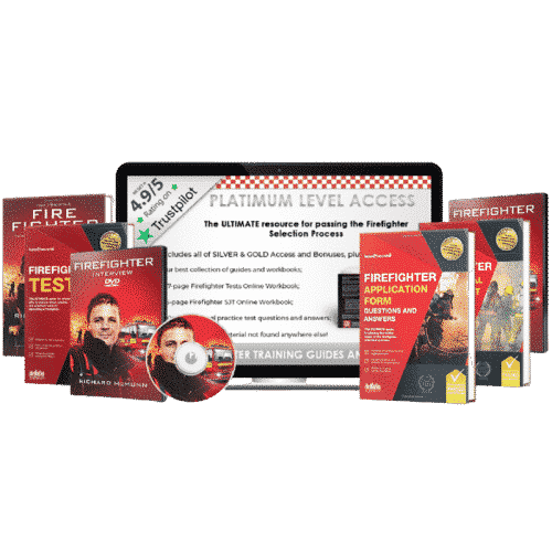 [Online Access] How to Become a Firefighter Platinum Pack