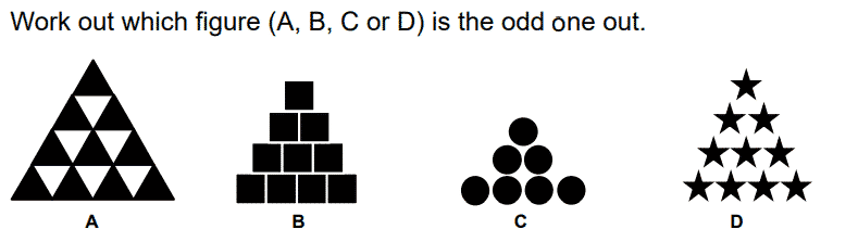 CEM 11+ Non-Verbal Reasoning Test Question 2 - How 2 Become