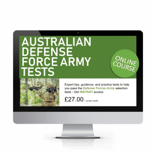 Defense Forces Australia Army Tests Online Course