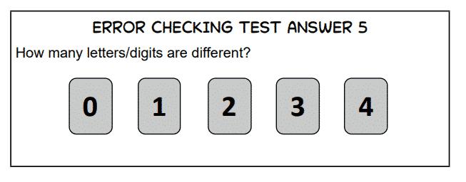 ACT Sample Error Checking 1b