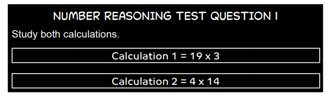 ACT Sample Number Test Question 1a