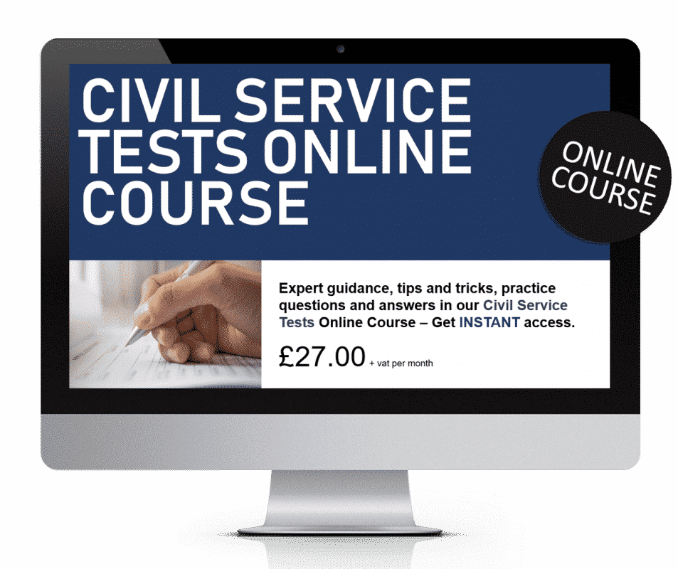 Civil Service Tests Online