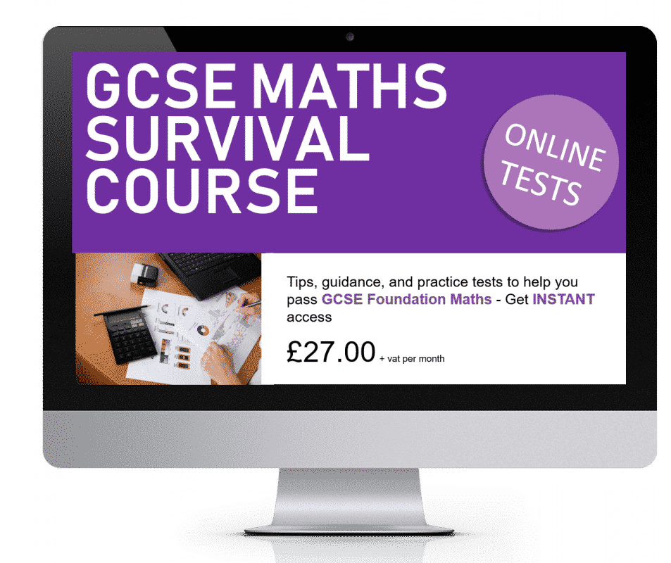 GCSE Maths Survival Course