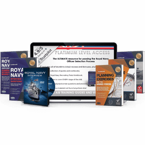 [Online Access] Royal Navy Officer Platinum Pack