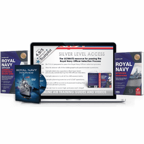 [Online Access] Royal Navy Officer Silver Pack
