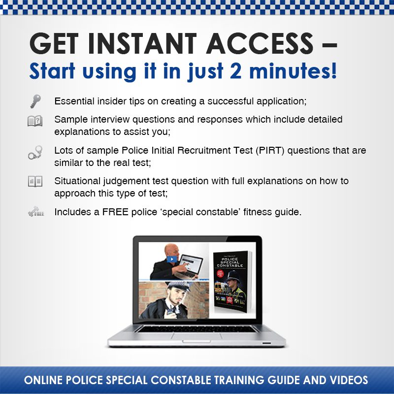 Become a Police Special Constable 2019 | How2become