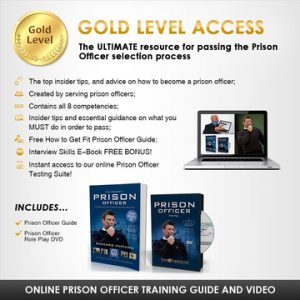 Prison Officer Gold Pack banner