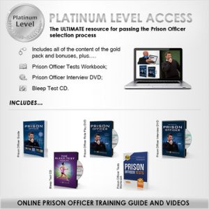 Prison Officer Platinum Pack banner
