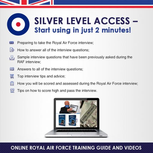 Royal Air Force Guide + Interview DVD silver pack banner_800x800