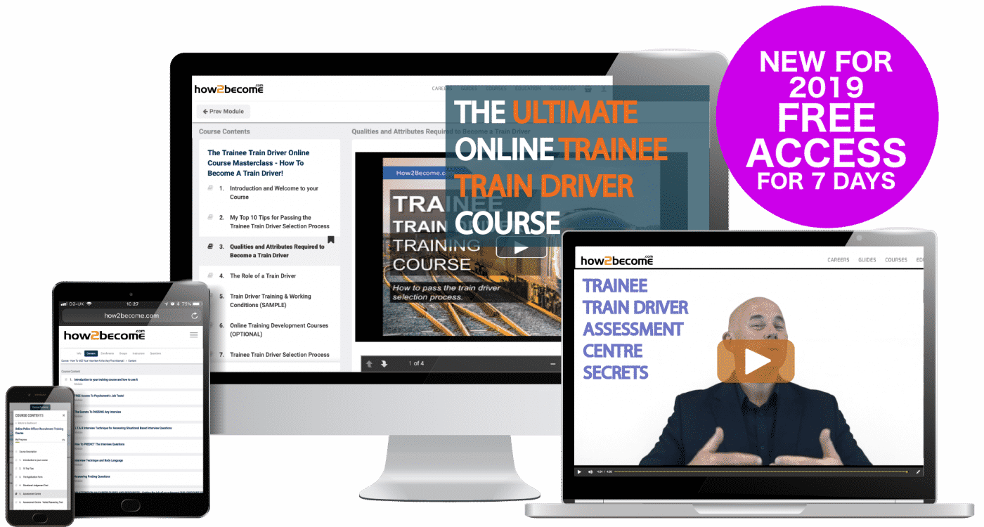 How to Become a Trainee Train Driver Online Practice Course