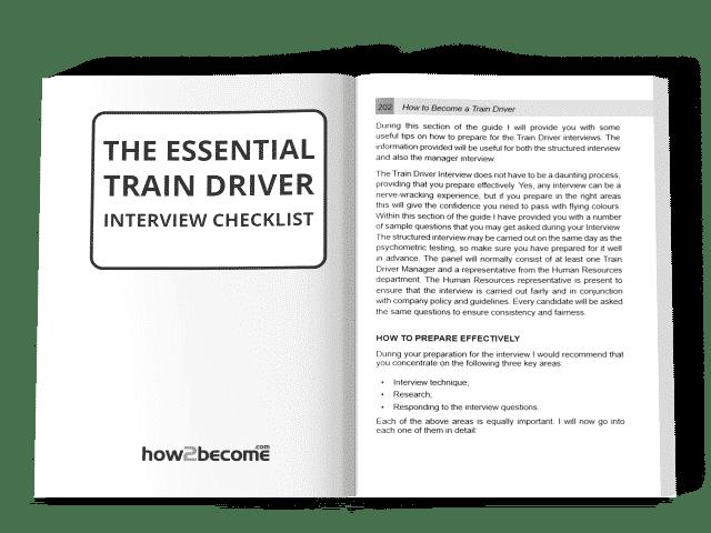 The Essential Train Driver Interview Checklist