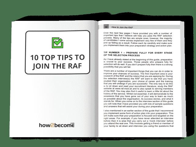 RAF Eligibility Criteria 2019 | Fitness Test | How2Become com