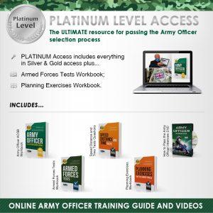 Army Officer platinum edition