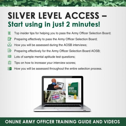 Army Officer silver edition Instant Access