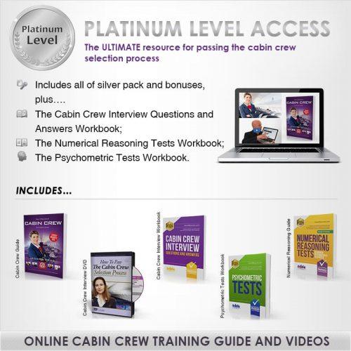 Cabin Crew Platinum edition Instant Access
