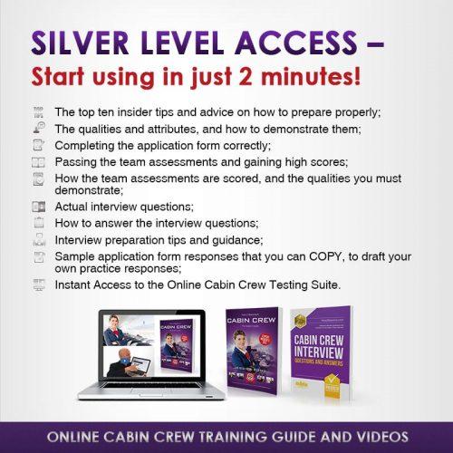 Cabin Crew Silver edition Instant Access