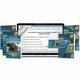 Online Access Scottish Police Officer Platinum Pack