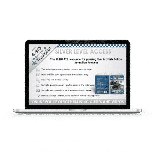 Online Access Scottish Police Officer Silver Pack