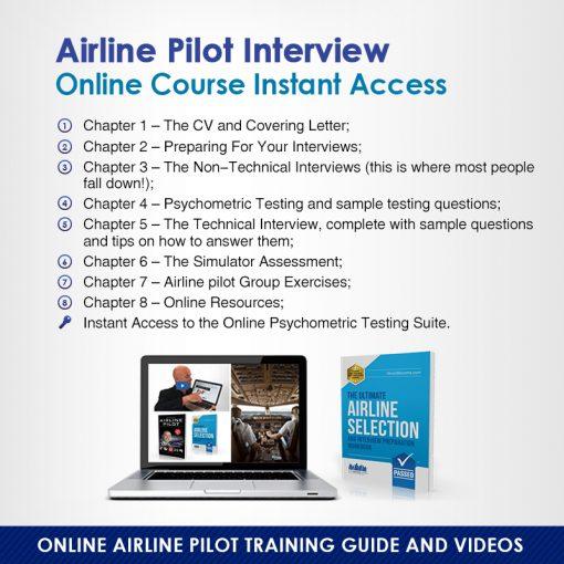 Online Airline Pilot Interview Instant Access