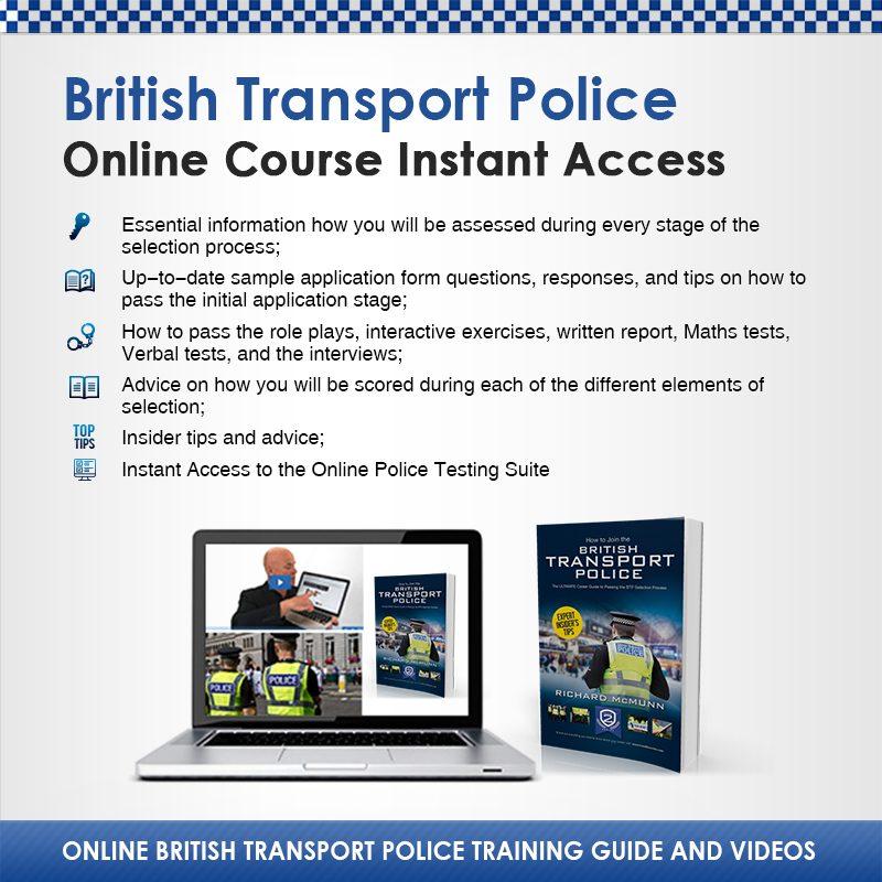 Online British Transport Police Instant Access