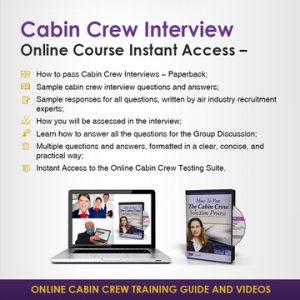 Online Cabin Crew Interview Instant Access